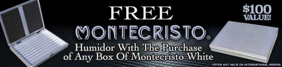 Free Montecristo Humidor